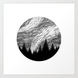 SPACE I Art Print