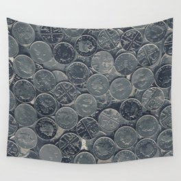Coins Wall Tapestry