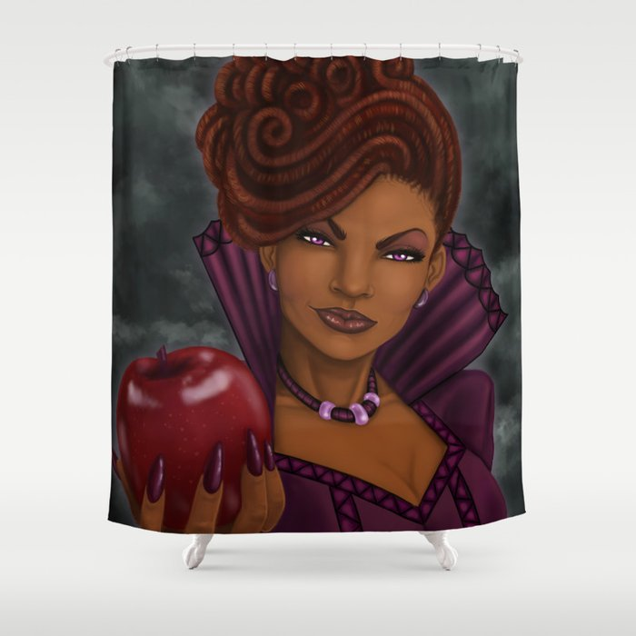 The Dreaded Queen Shower Curtain