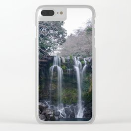 Cheonjeyeon Falls No. 2 Clear iPhone Case