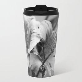 Freesia B&W Travel Mug