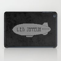 led zeppelin iPad Cases featuring L.E.D. Zeppelin by jerbing