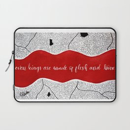 even kings are made of flesh and bone Laptop Sleeve