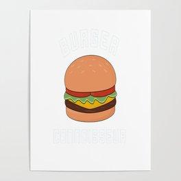 Burger Connoisseur Poster