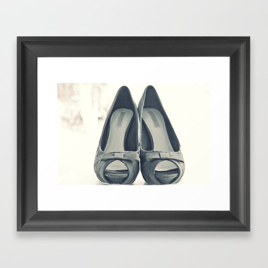 A lifestyle. Framed Art Print
