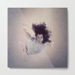 Bajo el agua / Underwater Metal Print