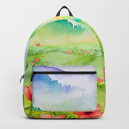 Spring Scenery #4 Backpack