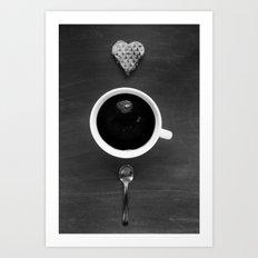 Breakfast Idill Art Print