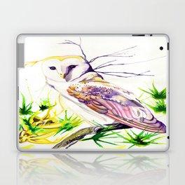 Owl Furze Wisdom  Laptop & iPad Skin