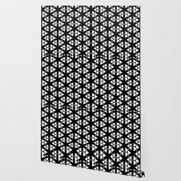 Multi Pattern Black and White Design Wallpaper