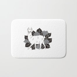 Llama & Hydrangea Bath Mat