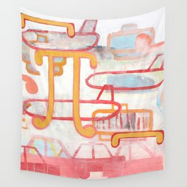 Exit To The Left Wall Tapestry