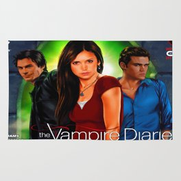 The Vampire Diaries Rug
