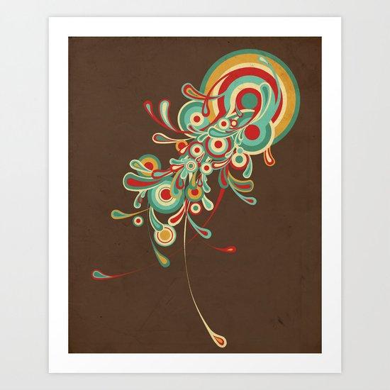 I'll be Your Jellyfish Art Print
