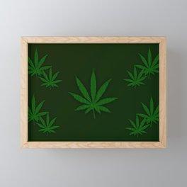 Weed Framed Mini Art Print