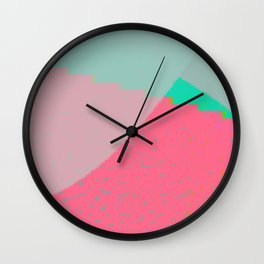 overturned Wall Clock
