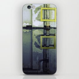 A Yellow Square iPhone Skin