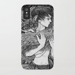 Magic fox iPhone Case
