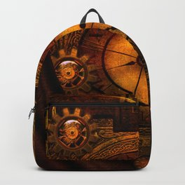Awesome noble steampunk design Backpack