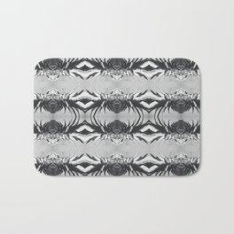 Silver Pineapple Bath Mat