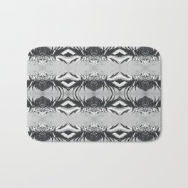 Silver Pineapple Bath Mat