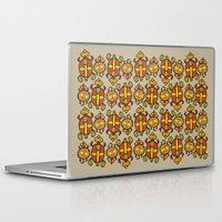 turtles Laptop & iPad Skins featuring Turtles by Olya Yang