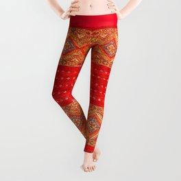 N175 - Golden Heritage Traditional Berber Moroccan Style Leggings