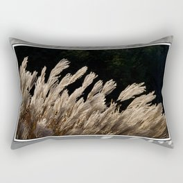 YAKU JIMA GRASS IN BACKLIT SUN Rectangular Pillow