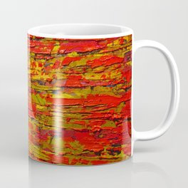 Up Close & Personal with Red Townscape II, #1 Coffee Mug