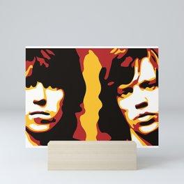 Keith & Mick Mini Art Print