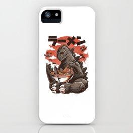 Kaiju's Ramen iPhone Case