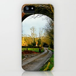 View through a viaduct. iPhone Case
