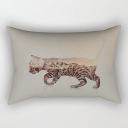 Cat: Bengal Kitten Rectangular Pillow