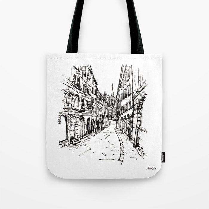 Urban Inkscape 8 Geneva Tote Bag