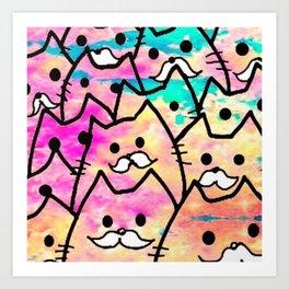 cats 36 Art Print