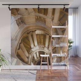 Borromini staircase, Barberini Palace, classical architecture, Roma, Museum in Rome, Bernini Wall Mural
