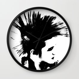 Punk! Wall Clock