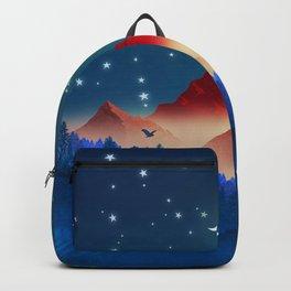 The last sunlight Backpack