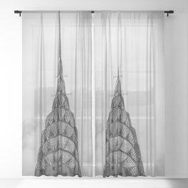 NYC Peaks Sheer Curtain