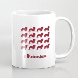 i love doxies Coffee Mug