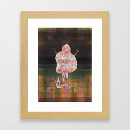 Ventriloquist and Crier in the Moor Paul Klee Framed Art Print