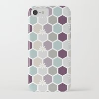 honeycomb iPhone & iPod Cases featuring Honeycomb by Kathrin Legg