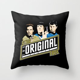 Star Trek TOS Trio Throw Pillow