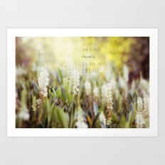 See the Light Art Print
