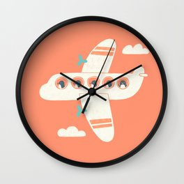 Penguin Airlines Wall Clock