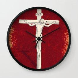 Blood of Christ Wall Clock