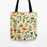 garden Tote Bags featuring Garden by AITCH