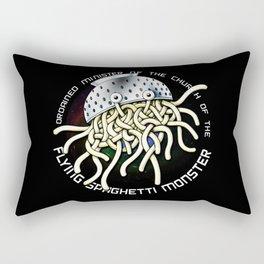 flying spaghetti monster Rectangular Pillow
