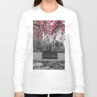 cherry blossom Long Sleeve T-shirts featuring Cherry Blossom by Claire Doherty