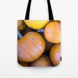 Pile of pumpkins Tote Bag
